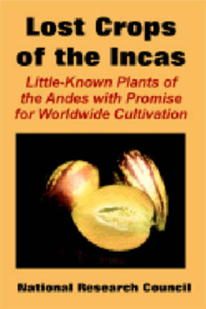 Lost Crops of the Incas - Little-Known Plants of the Andes with Promise for Worldwide Cultivation